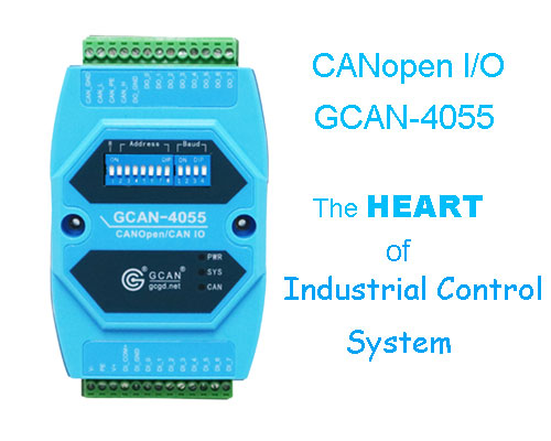 The Heart of Industrial Control Systems:CANopen I / O Module