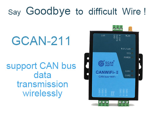 How to transmit CAN data wirelessly