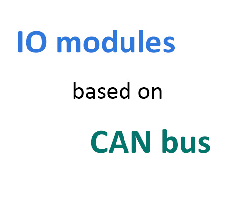 Introduction of io module equipment based on CAN bus