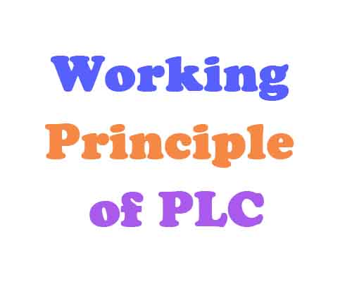 Do you know the working principle of PLC?