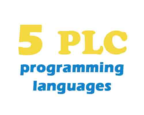 5 programming language which GCAN-PLC support