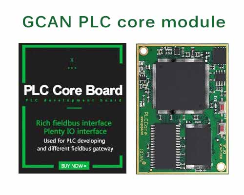 Develop your own PLC with a PLC core module!