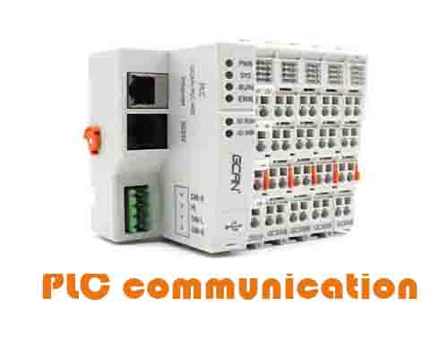 What's the PLC communication method?