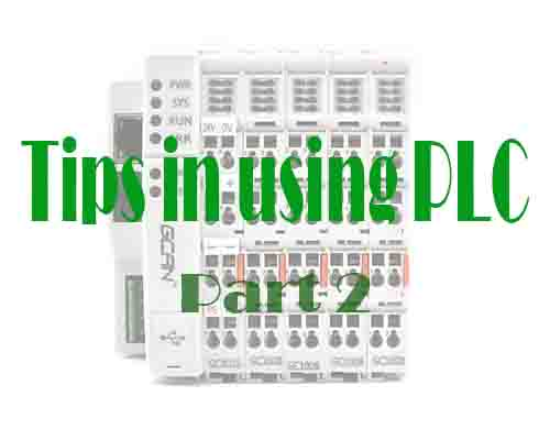 9 Tips of using PLC part 2