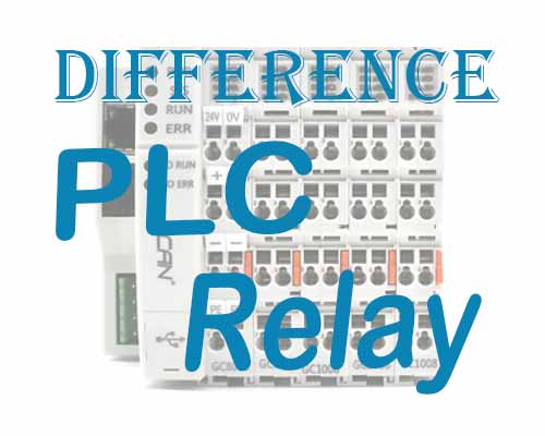 Difference between PLC and Relay (1)