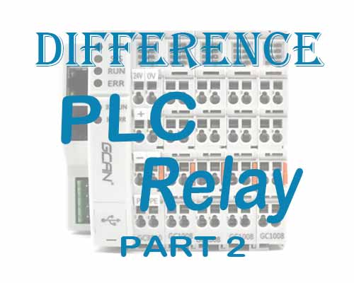 Difference of PLC and Relay (2)