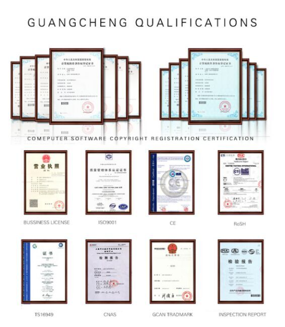 GuangCheng QUALIFICATION
