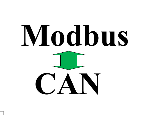 The solution for debug Modbus to CAN device