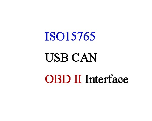 ISO 15765 protocol analysis-OBD II interface of GCAN USB CAN