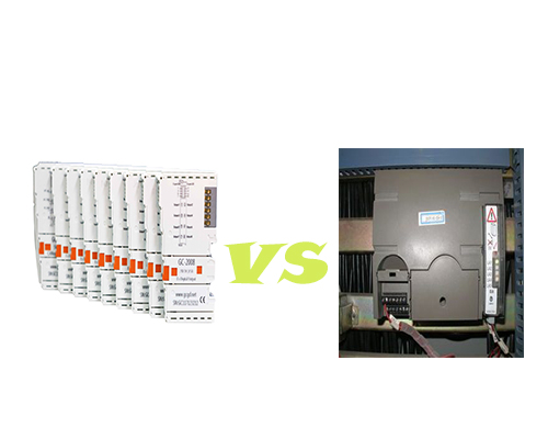 The difference between DSC and PLC