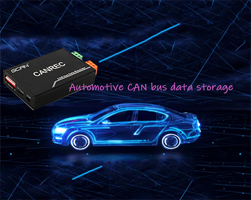 Logistic vehicle and CAN bus data offline storage instrument